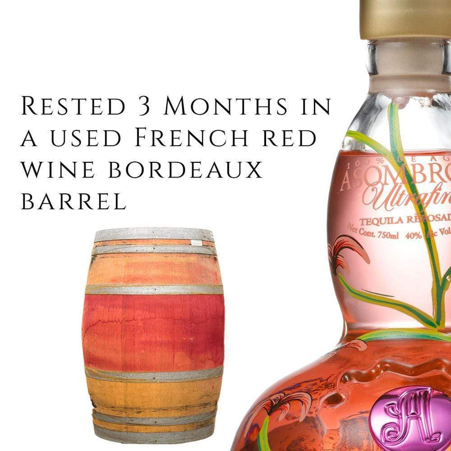 "30% OFF BUY ONE GET ONE | LA ROSA ""PINK"" 3 MONTH BORDEAUX REPOSADO"