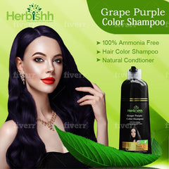 (Choose Red or Purple Shades) 3 pcs Color Shampoo + Free 1 pc Argan Hair Mask