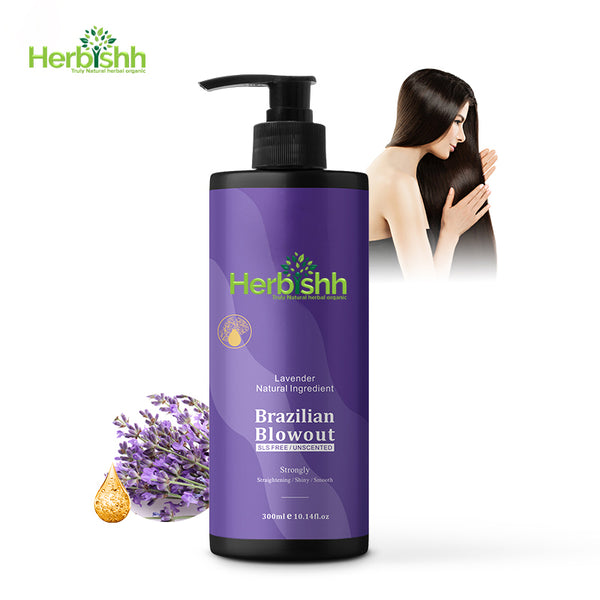 Herbishh Brazilian Blow out Keratin 1 bottle- Frizz free