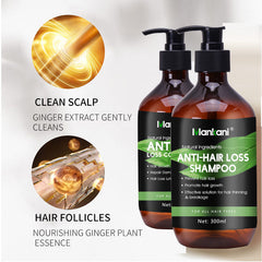 Anti-Hair Loss Shampoo & Conditioner + FREE Hair Growth Serum