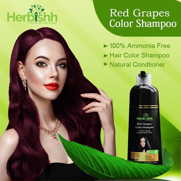 (Choose Red or Purple Shades) 1 pc Herbishh Color Shampoo