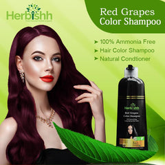 (Choose Red or Purple Shades)-1pc Herbishh Color Shampoo