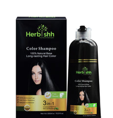 Blue Black Herbishh Color Shampoo