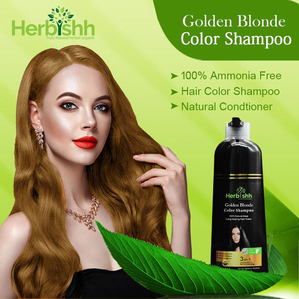(Choose Gold or Blonde Shades) 2 pcs Color Shampoo + Free 1 pc Argan Hair Mask