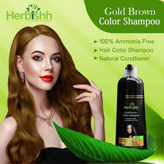(Choose Gold or Blonde Shades) 1pc Herbishh Color Shampoo