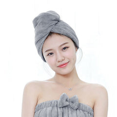 Microfiber Hair Towel- Solid