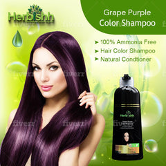 (Choose Red or Purple Shades) 2 pcs Color Shampoo + Free 1 pc Hair Mask