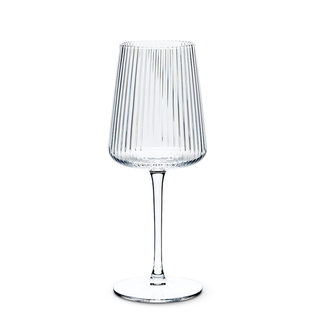Fluted Stem Glass