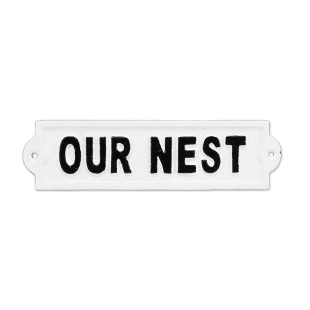 Our Nest Sign