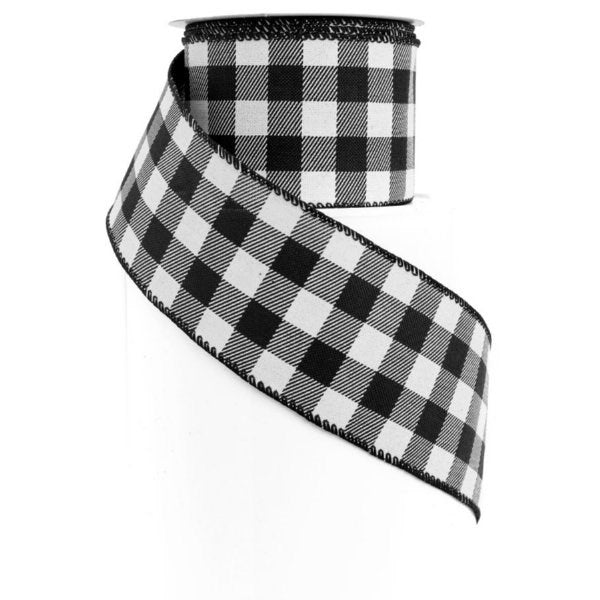 Buffalo Plaid Wired Ribbon