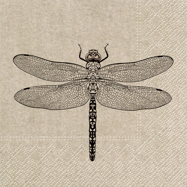 Luncheon We Care Dragonfly Napkins