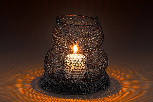 Collapsible Woven Lantern