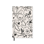 Messy Flower Paperback Notebook
