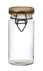 Mango Top Glass Canister