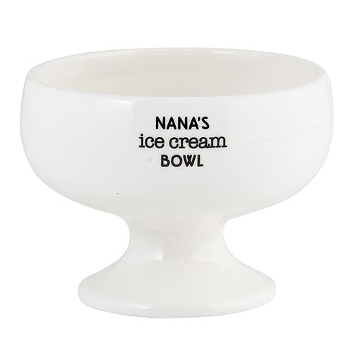 Nana's Ice Cream Bowl