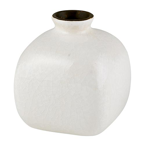Eggshell White Mini Vase