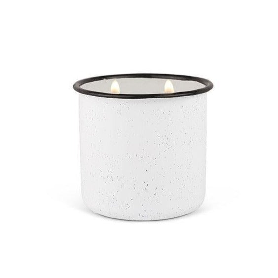 White Woods & Mint Candle