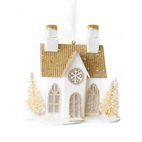 LED Paper House Ornament