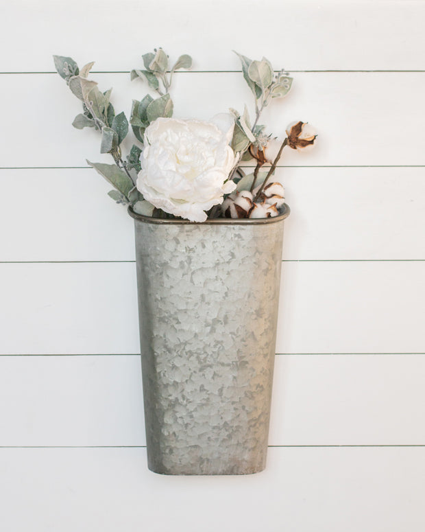 "16"" Tin Wall Bucket"