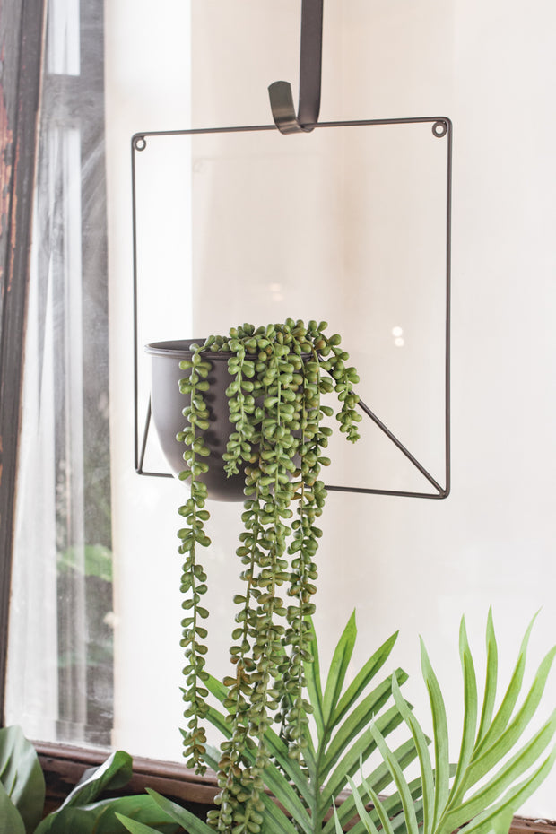 Wire Framed Wall Planter