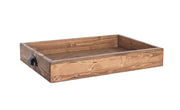 Wood Tray with Cup Handles