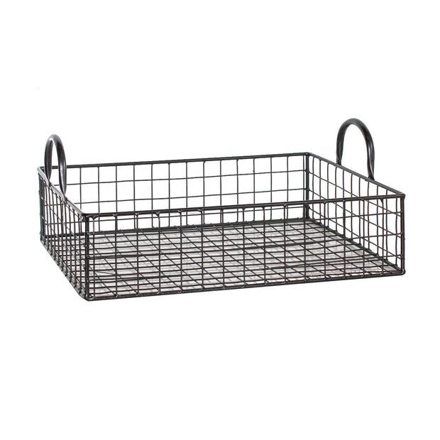 Low Rectangle Wire Tray