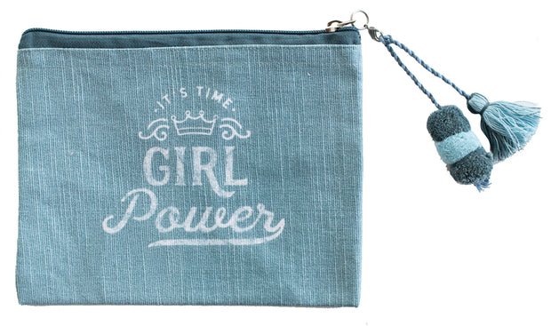 Girl Power Zip Pouch