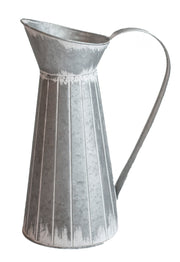 Galvanized Pitcher