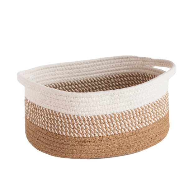 Oval Cotton Basket