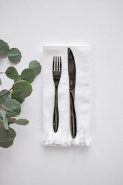 20PC Black Flatware Set