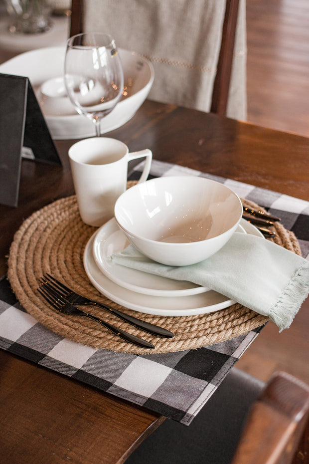 Buffalo Plaid Placemats