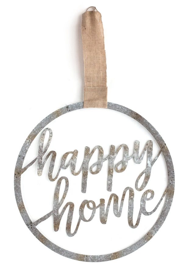 Happy Home Door Hanger