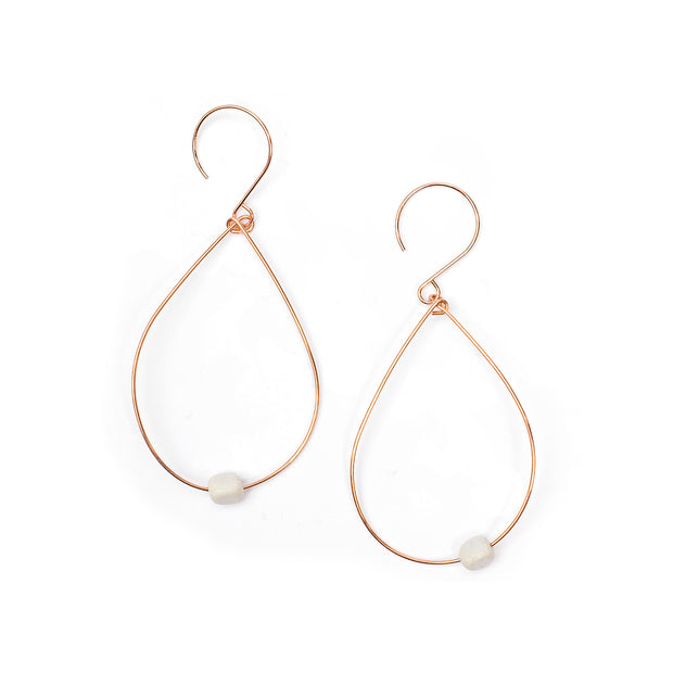 Evie Rose Gold Earrings