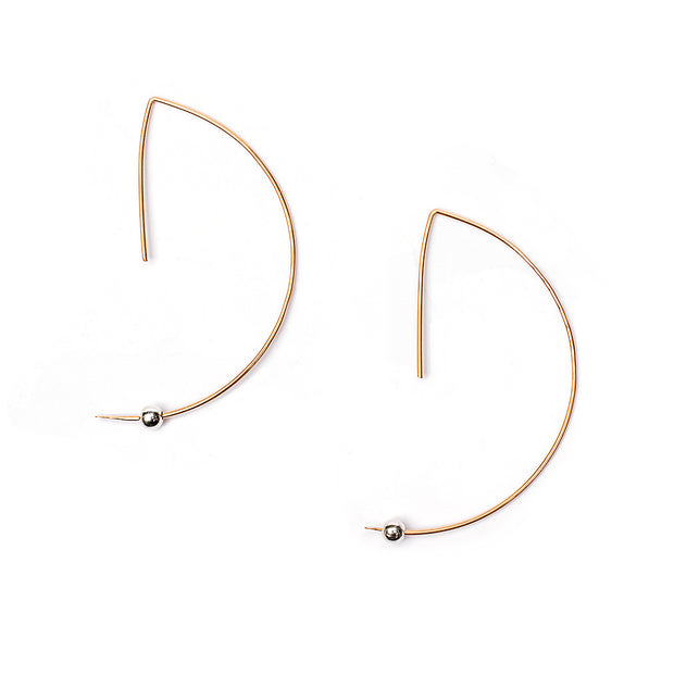 Ear Wire Abstract Earring