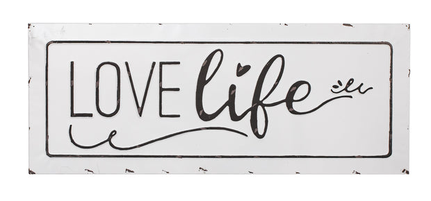 Love Life Sign