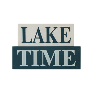 Lake Time Block set