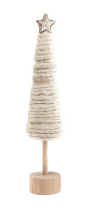 Wool Wrapped Cone Tree