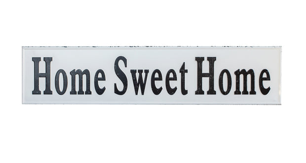 Metal Home Sweet Home Sign