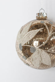 Champagne Leaves Ornament
