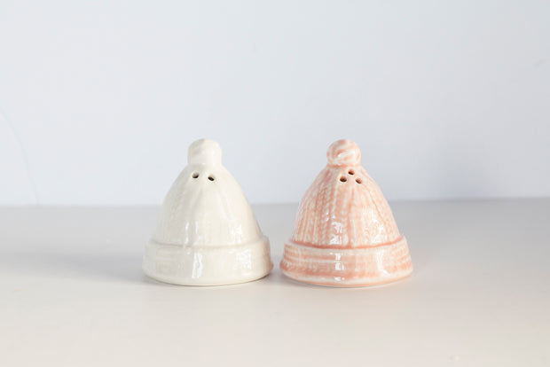 Salt & Pepper Hat Set