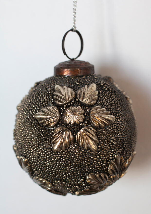 Antique Gunmetal Ornament