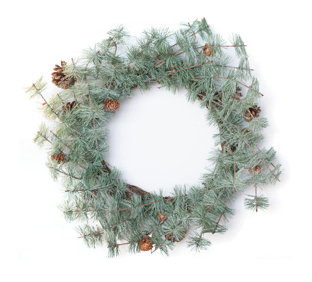 "24"" Holiday Pine Wreath"