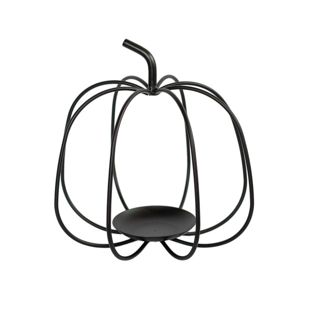 "9.25"" Wire Black Pumpkin"