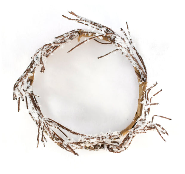Twig Candle Wreath