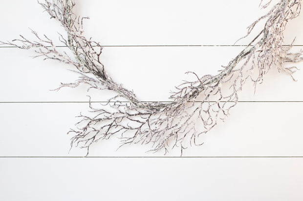 Snow Twig Garland