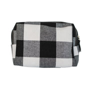 Buffalo Plaid Dopp Kit