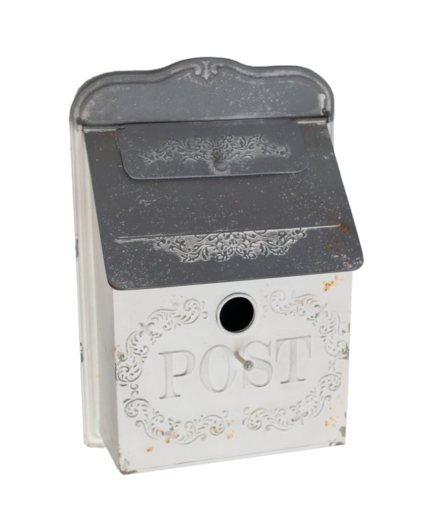 White Vintage Post Box