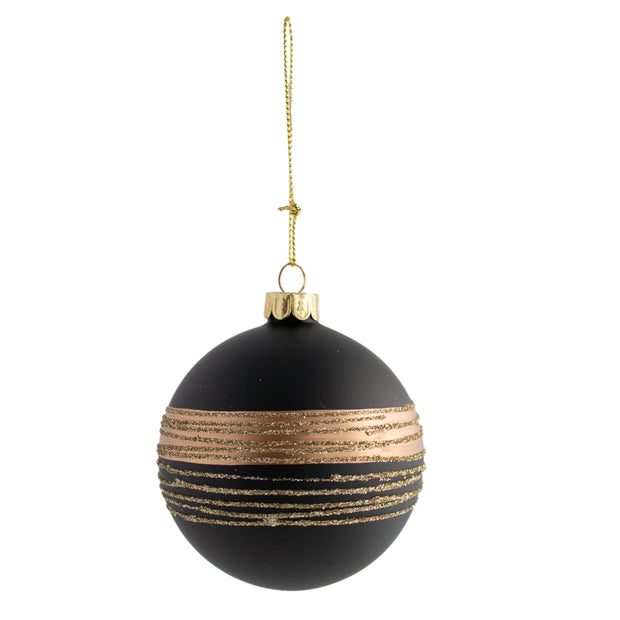 Black Gold Ornament