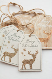 Wood Christmas Gift Tags
