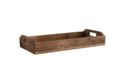 Rustic Rectangle Wood Tray